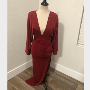 Red Wine gown